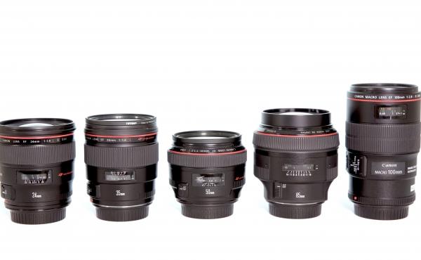 Lentes Fixas Canon serie L