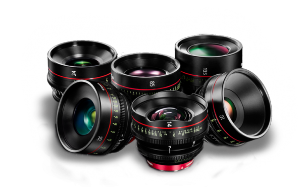 KIT CANON CN-E PRIME EF  (14,24,35,50,85 e 135mm)