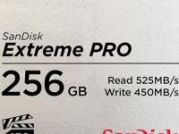 SanDisk 256GB Extreme PRO CFast 2.0