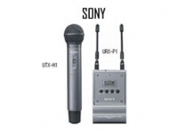 Microfone De Mão Sem Fio UTX-H1 URX-P1 - Sony