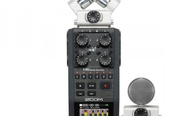 Gravador de audio ZOOM H6 4ch